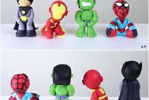 Gâteaux 3D Super héros