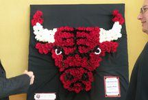 GlobalPetals & Chicago Bulls / #volunteer night at United Center 2012