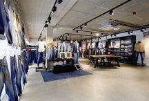 Kot & Jeans Mağaza Dekorasyonu Tasarımları