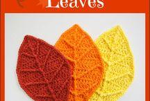 Crochet, knitting, embroidery
