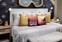 Snowboarding rooms