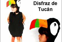 disfraz Tucan