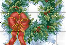 Ideas - Christmas cross-stitch