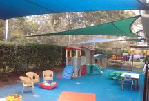 Child Care and School Shade Sail Ideas
