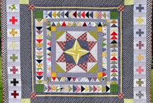 """quilts: medallion / From the book """"Liberty Love"""""""