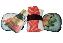 Sushi pillow funny addicts gift advise suggest