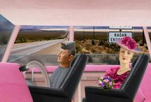 Lady Penelope and Parker out on another important mission