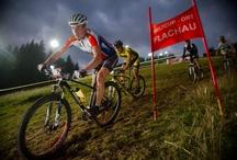 Bike Night Flachau / Flootlit mountainbike marathon in Flachau, special mode, circuit of 4,5 km, height difference: 200 m, 5000 spectators. Mountainbike Marathon bei Flutlicht, spezieller Rennmodus auf einem 4,5 km langen Rundkurs mit 200 m Höhendifferenz. 5000 Zuschauer