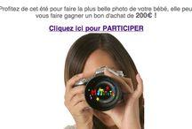 Concours / Photo bébé du mois, jeux concours, découvrez l'actualité de matutute.com