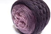 Gradient yarns by FONALclub / We welcome to all who wants to create something special, unique.