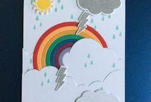 Set de tampons Sunshine & Rainbow
