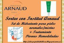 Sorteo lote cosmético con Institut Arnaud!