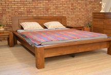 manželské postele  / manželské postele z masívu