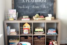 playroom. / by Lacey Mead