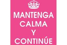 mantén la calma