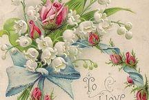 Винтаж день святого валентина