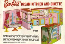 """Barbies """"Dream Kitchen and dinette"""""""