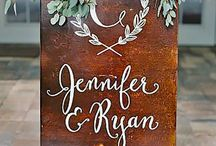 Wedding Sign Boards