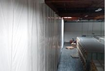 3PL | Insulated Warehouse Curtain Wall | Separates Ambient from Temp-Controlled Space / 3PL uses InsulWall® to create a cooler room for highly valuable, temperature-sensitive inventory