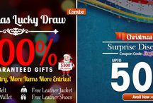 """Christmas Sale Upto 50% OFF and Free Gifts / Get Upto 50% OFF on every purchase with worldwide free shipping and also win free exciting gifts with Sky-Seller Lucky Draw.  Coupon Code : """"Jingles"""""""