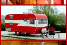 Our Vintage Trailer / by Marion Schmid