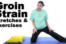 pain in body and exercises
