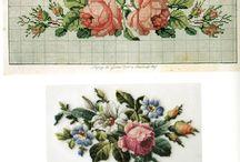 X-stitching/Flowers / cross stitch scheme