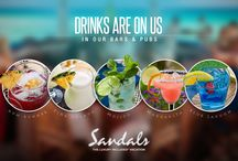 Caribbean Drink Recipes / Everyone's favorite #SandalsResorts & #BeachesResorts drinks! You had them at the resorts and now you can make them at home too!! #ThirstyThursday #FavoriteDrinkFriday ... Grab your blender and go..... If you haven't experienced them 1st hand, let me know & I'll get you there! (815)210-7596 or info@luxbeachweddings.com #AlwaysIncluded #NeverExtra #WhoElseDoes