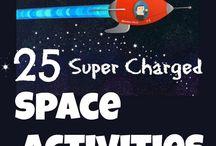 Alex's Space Party ideas
