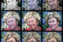 Het maken van een portret in opdracht / Opbouw van een olieverf portret. voor meer voorbeelden van werk in opdracht : http://saskiavugts.nl/in-opdracht-3/
