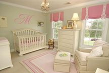 Pink and Green Baby Nursery