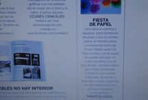 Manitos Ideas en los medios / Manitos Ideas en diferentes revistas y páginas web