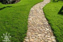 Ścieżki ogrodowe - Garden paths