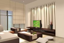 Calm Interior Design / How interior designs should be made as soothing as possible for the stressful minds