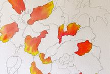 Watercolouring
