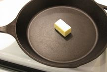 cast iron frying pan  care