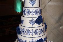 cherry red & cobalt blue wedding inspiration / by Chelsey Gike (Ready to Rock)