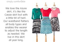 LuLaRoe Azure (skirt)