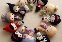Manualidades: muñecas y varios