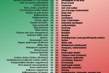 Dieet/koolhydraatarm