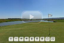 Cancha de prácticas de golf... un lujo