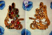 Vintage Jewellery / Exquisite vintage costume jewellery from the Emporium