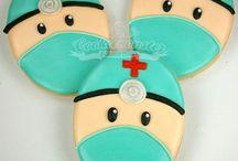 decoración de galletas malvaviscos
