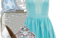 Winter wonder land fashion / Beautiful fashion on the winter time with a hint of spring fashion
