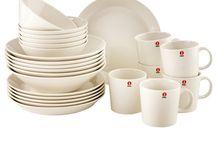 Aan tafel / Servies, bestek, servet, onderzetters, enzo