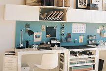 craft room/ office / by Virginia Pope