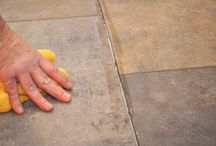 how to lay tile floors