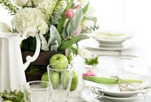 A Beutifully set Table / How to set a  beautiful table for any occasion.  / by Linda Cunningham Thomas