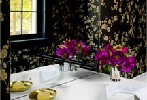 Powder Rooms / Small rooms with BIG impact.