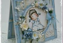 Magnolia Stamp cards